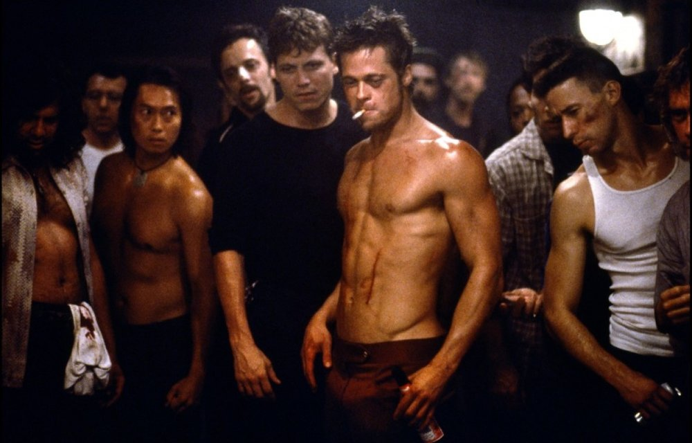 - Are you a straight man with violent urges and don't know what to do with them? Well, 20th Century Fox's big budget Fight Club (1999) has the perfect anti-capitalist message for YOU! While certainly problematic, David Fincher's adaptation of Chuck Palahniuk's novel subtly undercuts it's own message of reclaiming masculinity through anarchy with style and aplomb. We dig into it along with ice tubes, sleddy things, and Homework: The Video Game, this week on Ex Rated Movies!