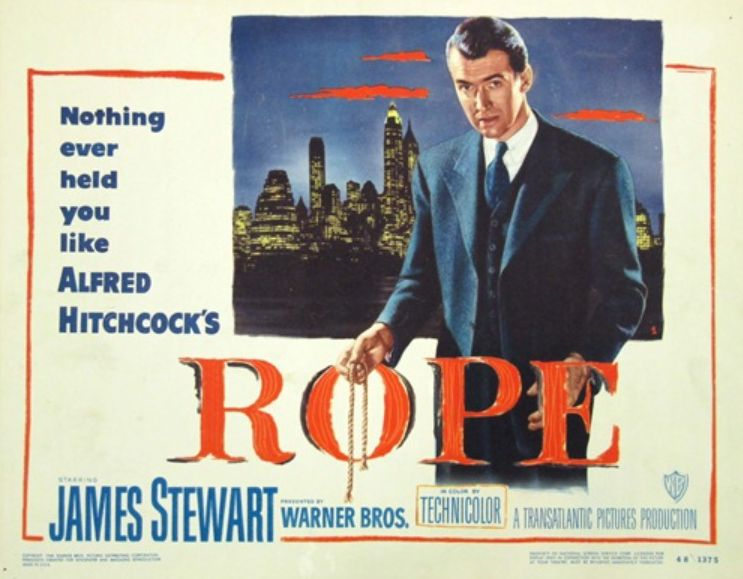 - Look. Everyone knows we were bound to cover Alfred Hitchcock's Rope (1948) eventually. And though it took over 2 years and more than a hundred episodes, that day is here. Based on a real life murder and filmed in only 10 long takes, this highly watchable experiment is a fantastic gem despite the fact that it probably wouldn't even rank among Hitchcock's top ten films. We're airing all the dirty laundry this week as we discuss poultry choking as gay euphemism, axe-hacked sharks, and blumpkin spice lattes this week on Ex Rated Movies!