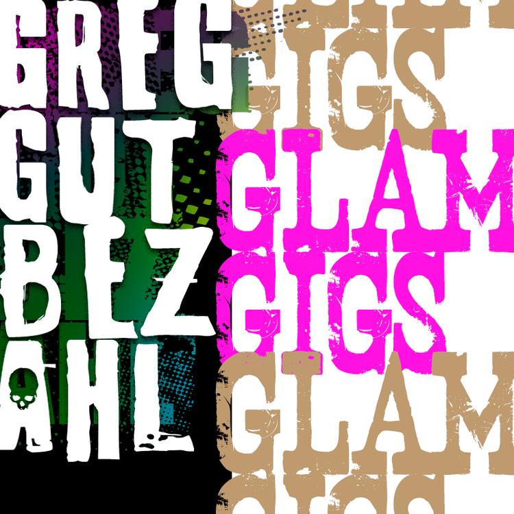 greg gutbezahl / glam gigs / rock photography