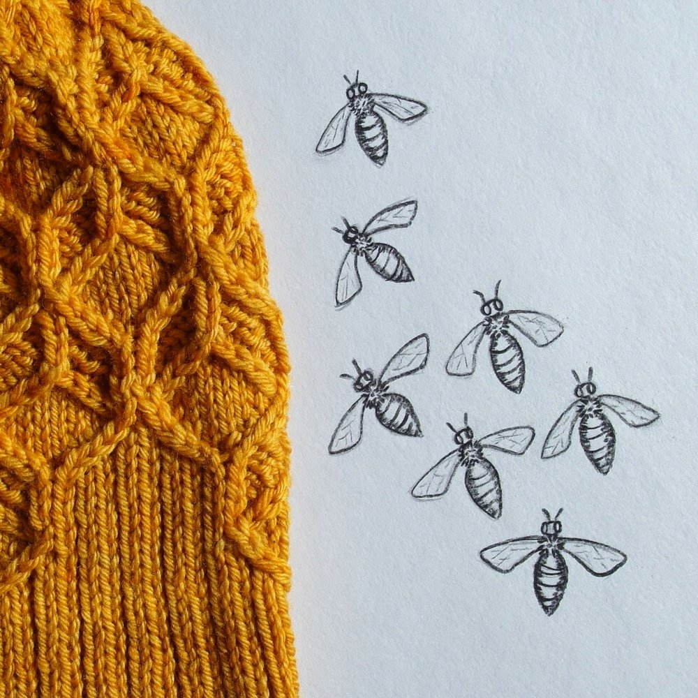 New pattern: Beeswax hat — Baroque Purls