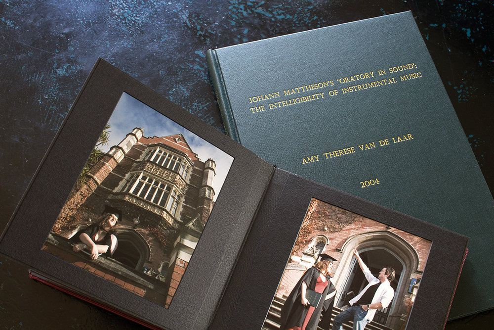 My graduation album and MA thesis, about rhetoric in Baroque instrumental music.