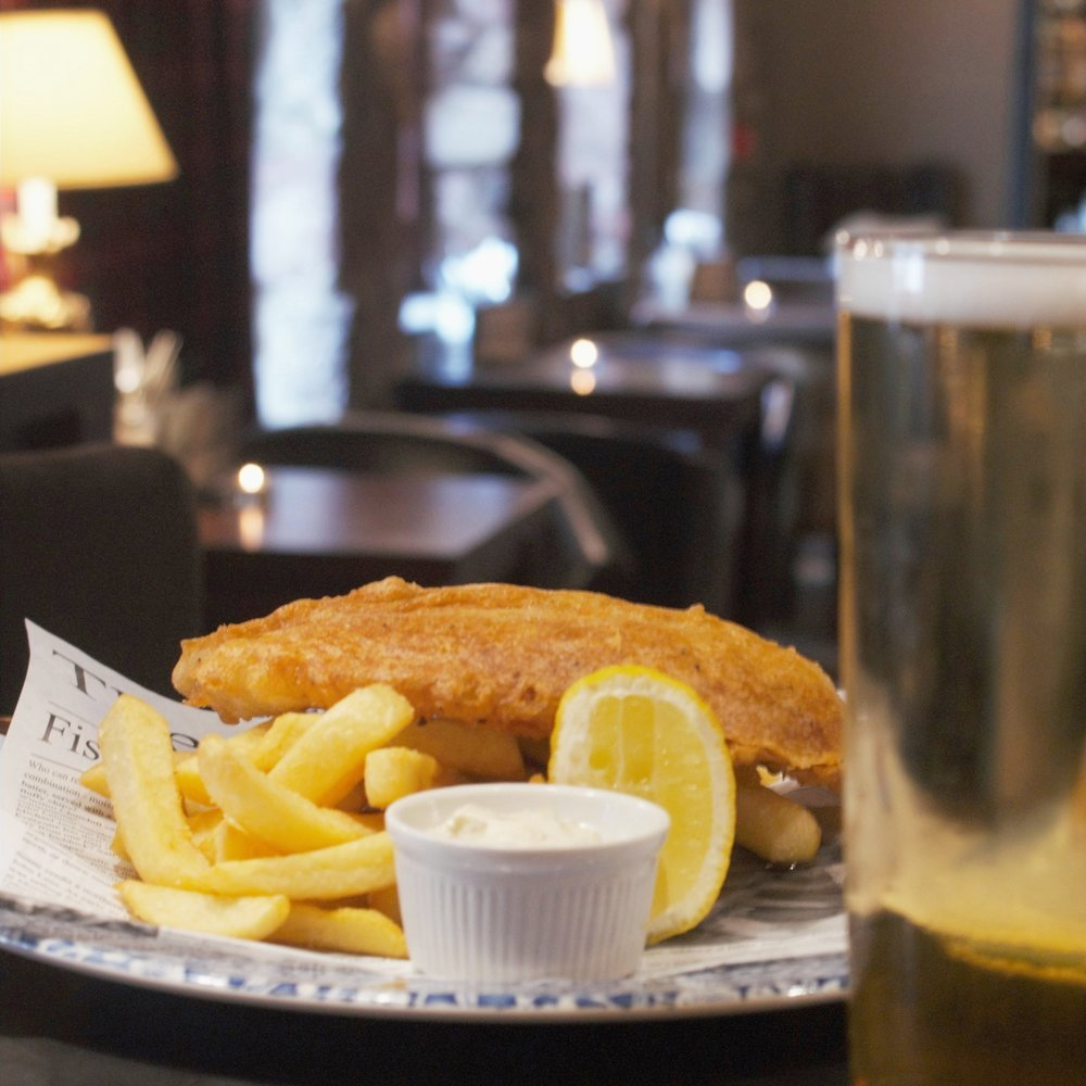 Thursday Fish & Chips - Just £14 per person.