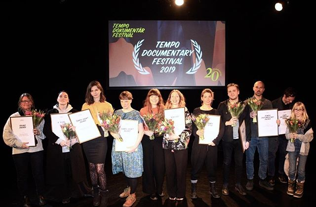 Grattis alla vinnare på @tempofestival i helgen! Och vi på Munck är så glada att vi ska få lära känna dig Fredrik Ramel, vinnare i kategorin Short Dox. Som en del av priset får du studio- och producenttid hos oss till ditt nästa projekt samt resa och boende till Köpenhamn i höst, då den nordiska Short Doxfinalen går. Det ser vi fram emot! Foto: Tempo. #tempo2019