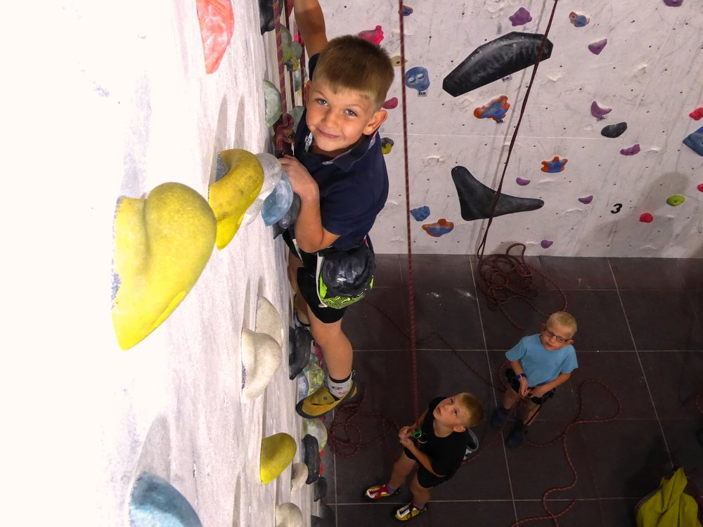 Holiday Kids Clubs - Junior Climbing sessions through the christmas holidays