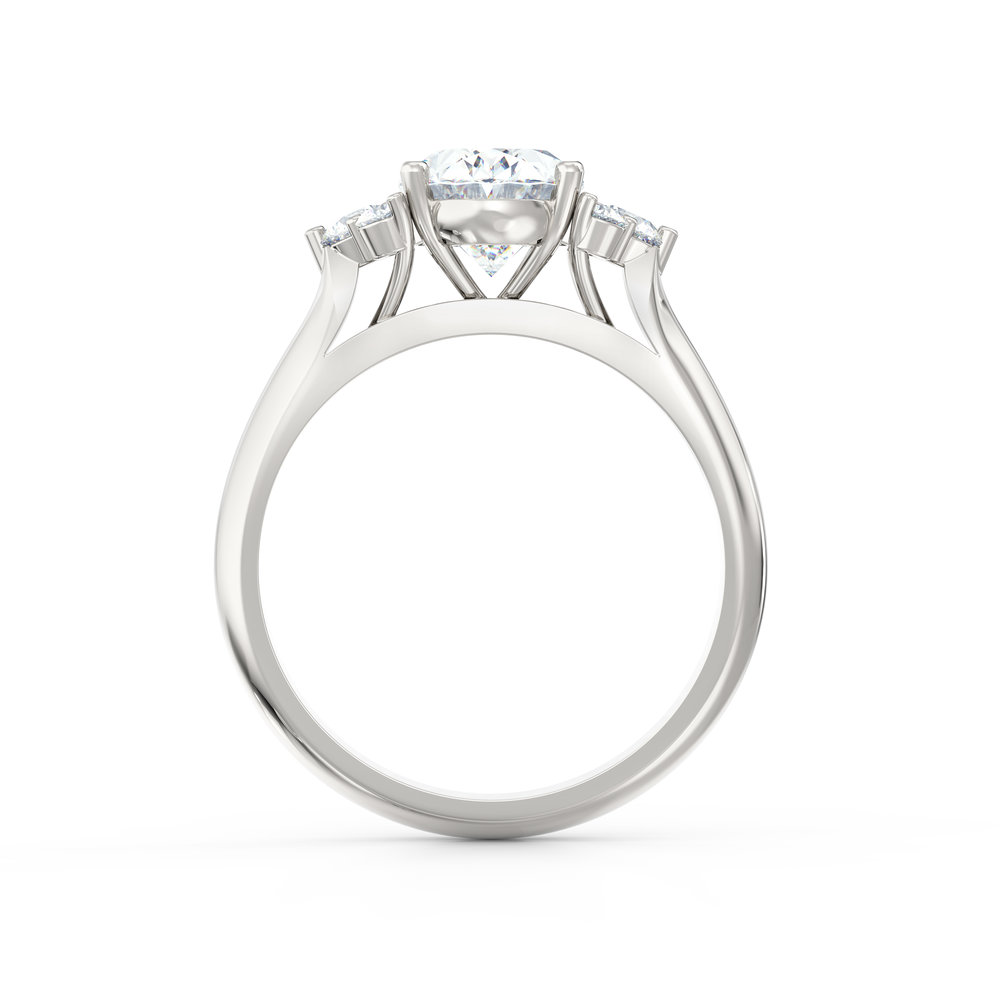 Oval Shape Engagement Ring | | Hatton Garden. London