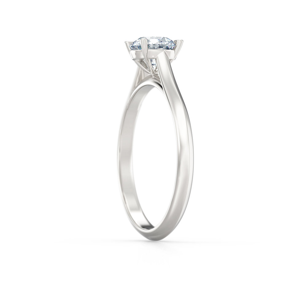 Solitaire Engagement Ring | Hatton Garden