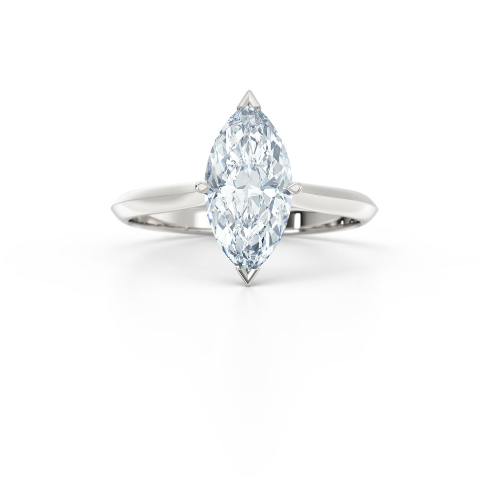 Marquise Cut Solitaire Engagement Ring | Hatton GardenMarquise Cut Solitaire Engagement Ring | Hatton Garden