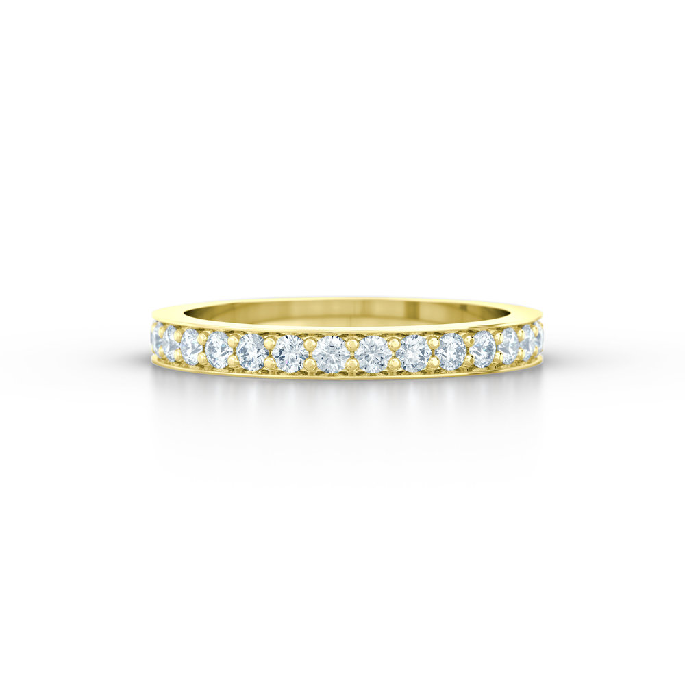 Pave Set Eternity Ring | Hatton Garden Jewellers