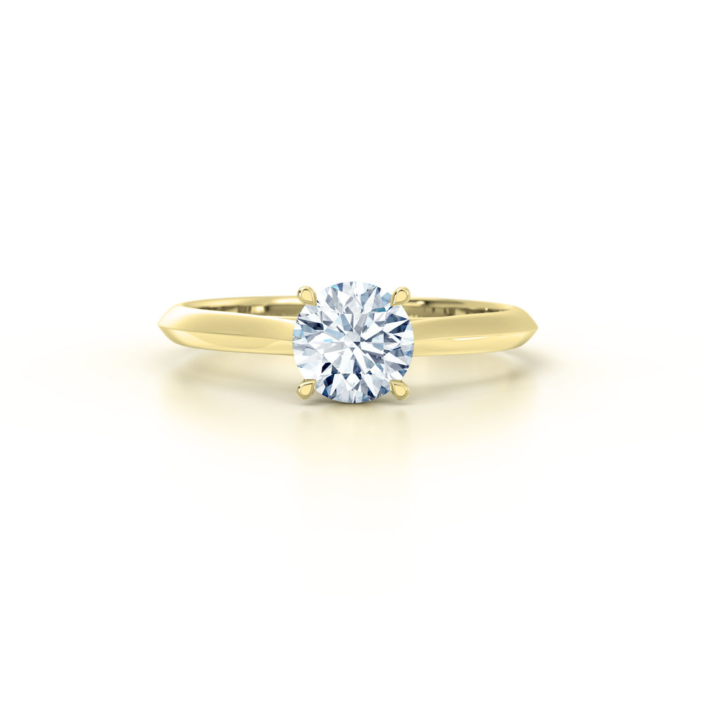 Brilliant Cut Solitaire Engagement Ring | Hatton Garden