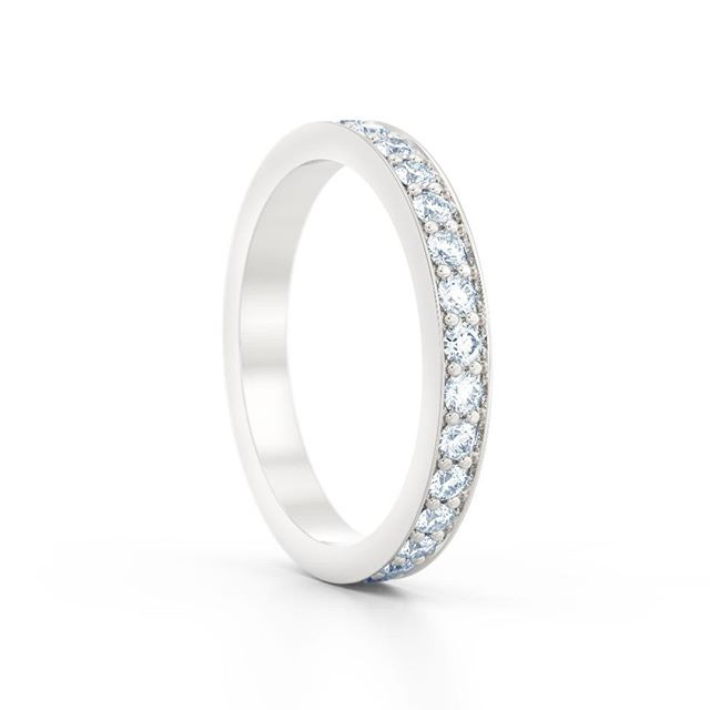 Our timeless and classic eternity ring collection. Providing the best of traditional British craftsmanship, merged with a contemporary and modern approach in Hatton Garden, London.  #jewellers #hattongarden #london#wedding #weddinginspiration#weddingrings #engagementrings#weddingbands #photooftheday #love#jewelry #jewellery #handmadejewelry#engagementring #fashion