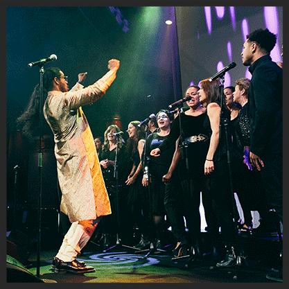 Tensta Gospel Choir  Uppdrag: körljud, turnéledare År: 2016  Mer information