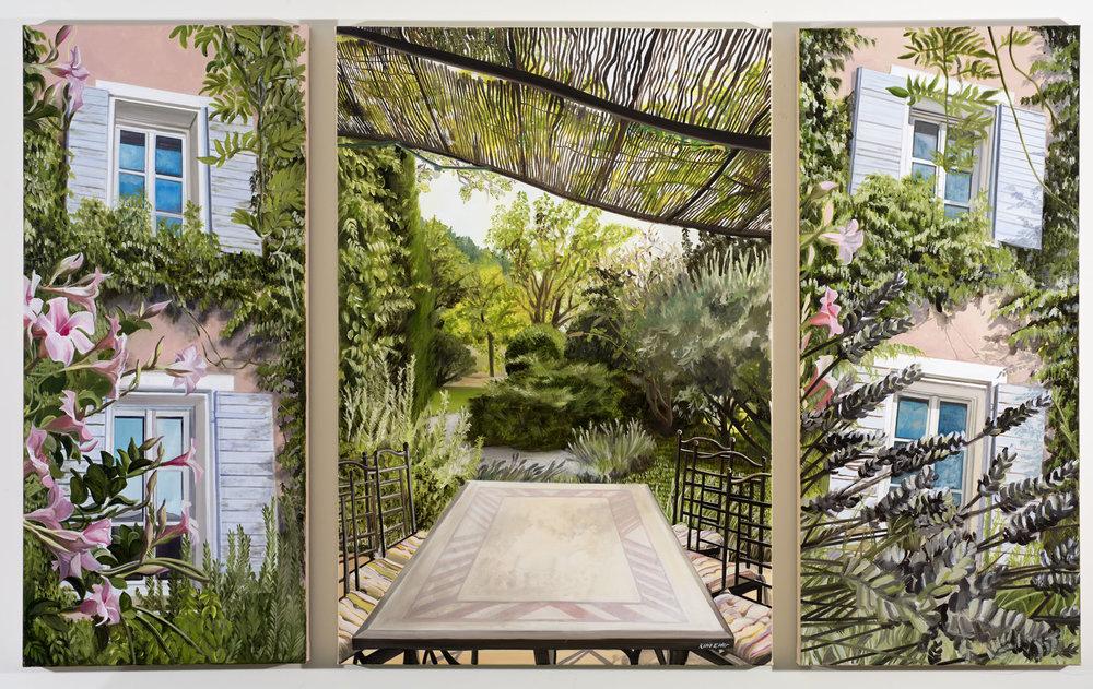 Maison Rose Triptych - Dauphin, Aix en Provence