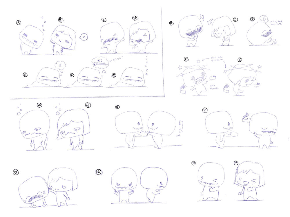 First pass at conceptualizing actions and interactions between Foos