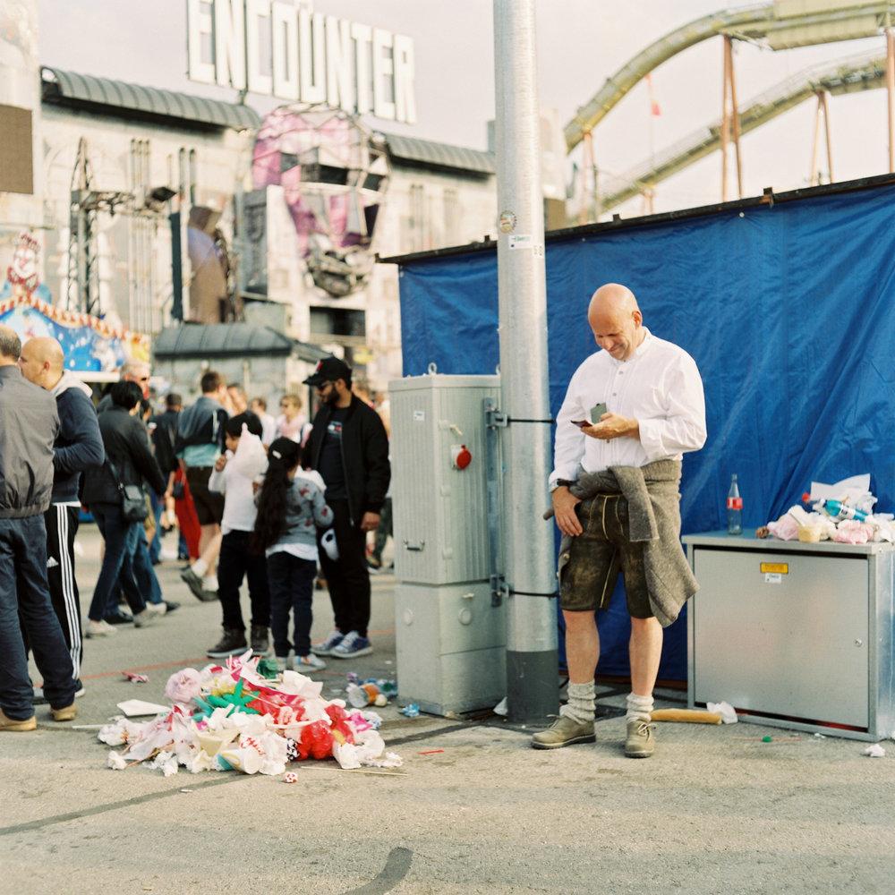 Glück und Müll