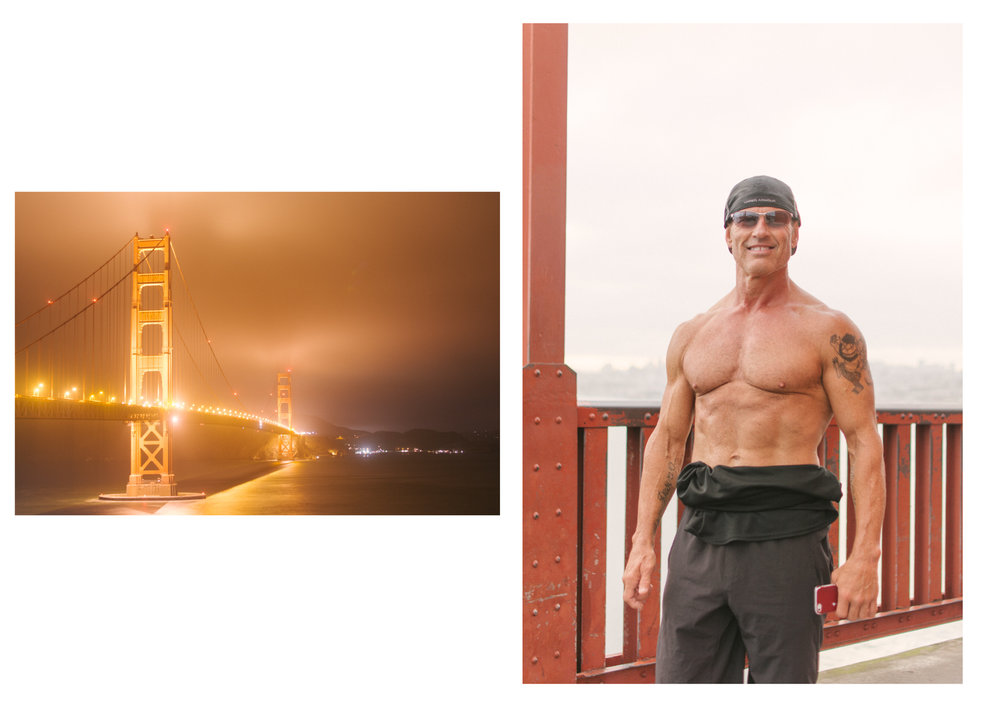 Golden Gate Bridge by night and MadMax
