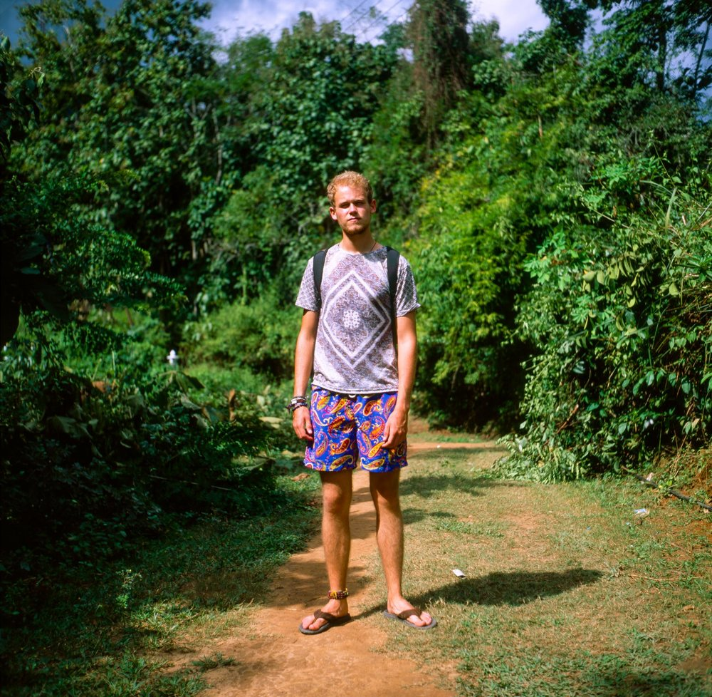 Oscar in Laos