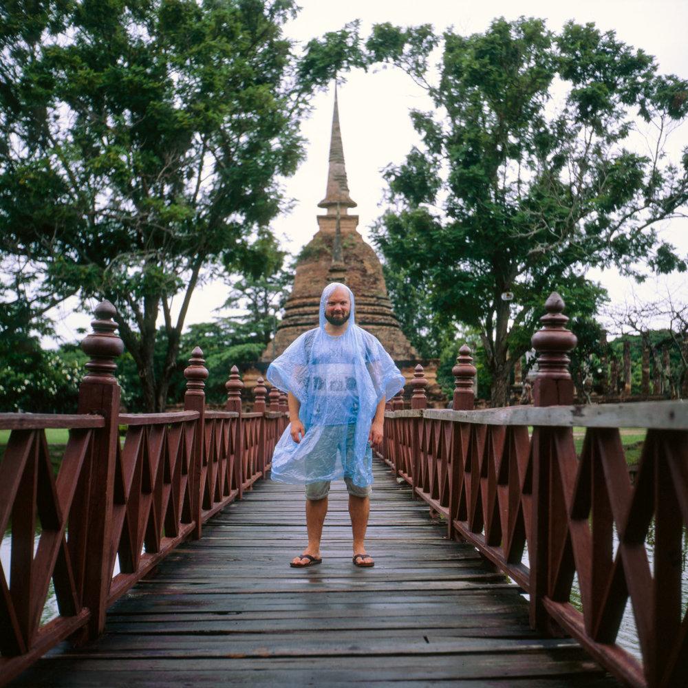 Maarten in Sukhothai