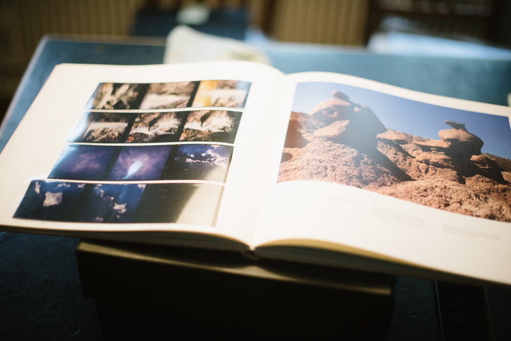 Flattening negatives and slides in a heavy, clean book makes scanning them much easier.