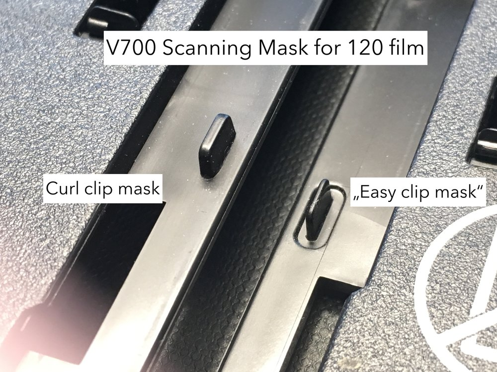 Original Epson Film Holders can have different closing mechanisms.