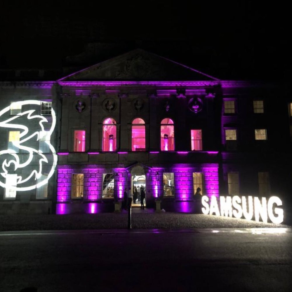 Party season is here - with Feast Catering in Powerscourt House