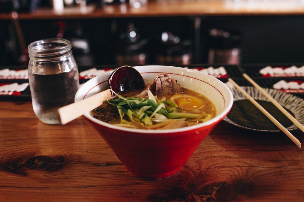 Soupe boeuf et légumes à l'asiatique