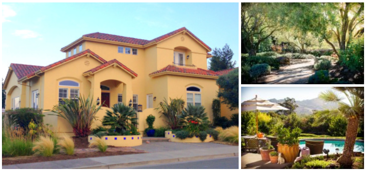 Retreat house collage