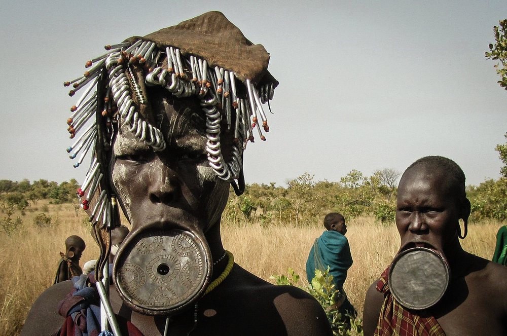 CLAY Lip plate, as used by the mursi tribe in the OMO region of ethiopia, represents female strength and beauty (PHOTO: PIXABAY)
