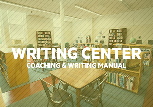 Be a Writing Maverick - Take the fear and anxiety out of writing using MSA's in-house manual and tutoring program.