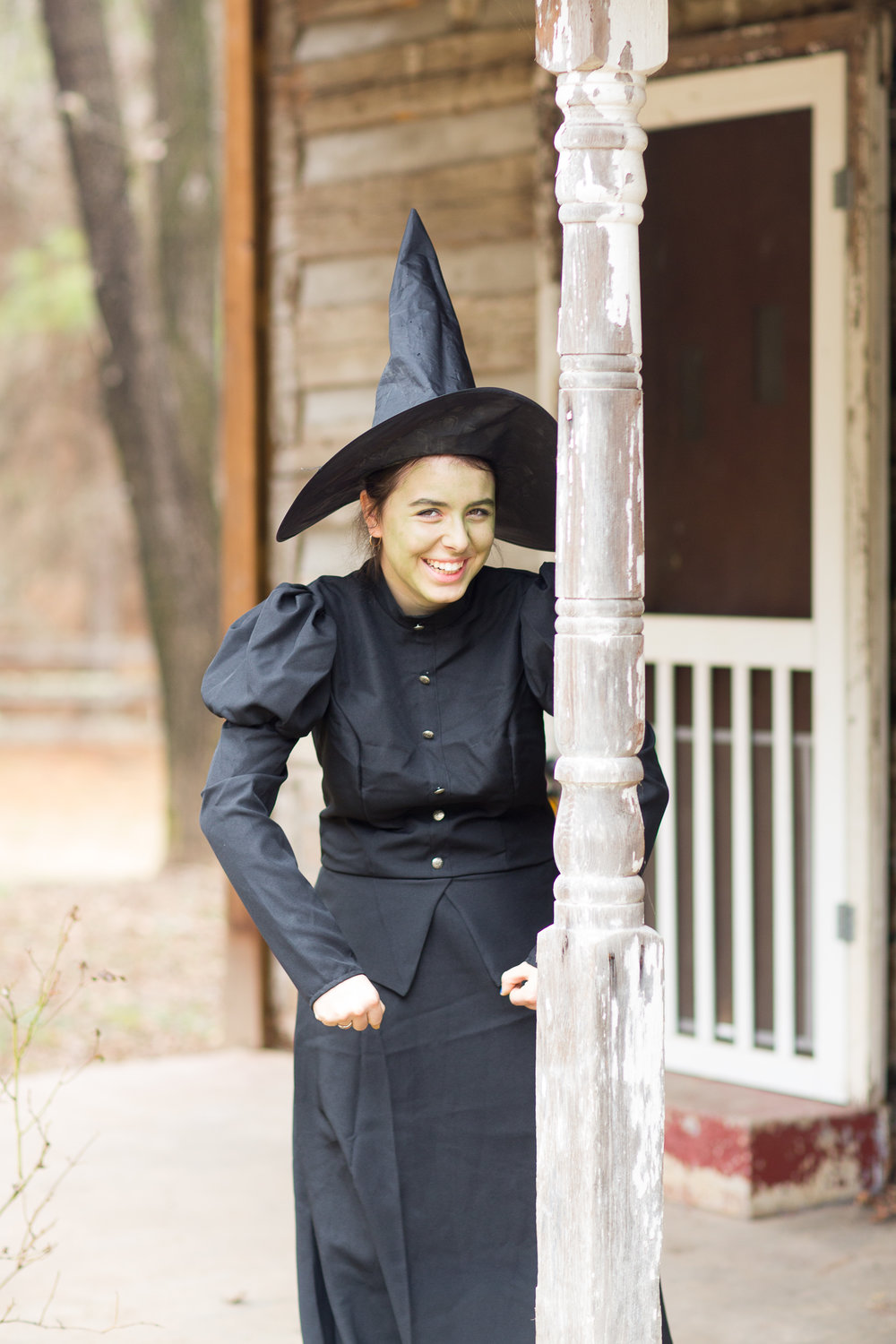 Remy Lusk as the Wicked Witch