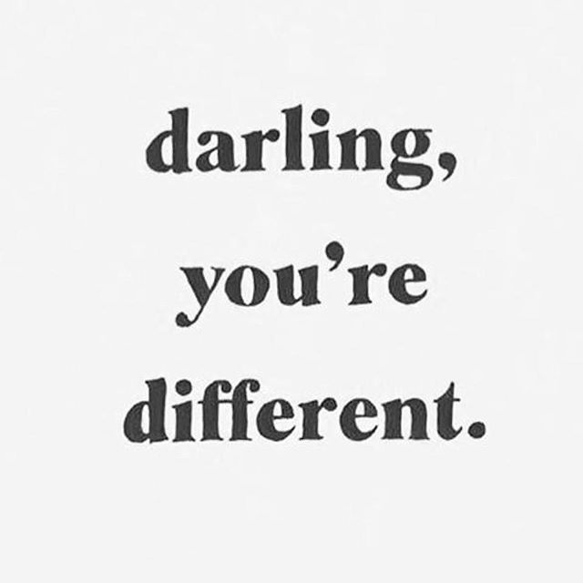 Yes... Darling You are different and that is a great thing. 🌙 See u 1.13 #urbanyogafest #wynwood #yogalife