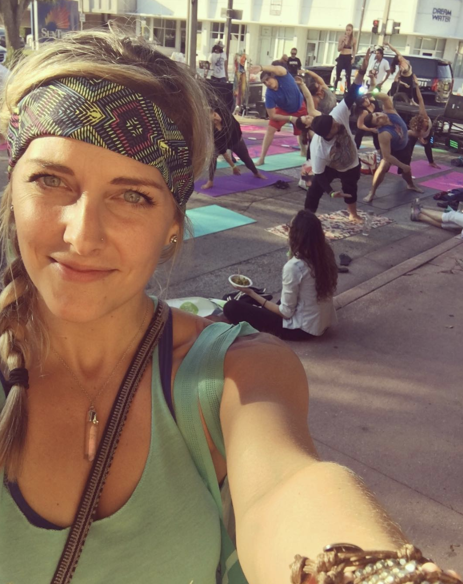 miichersHad a blast at @urbanyogafestthis weekend! -