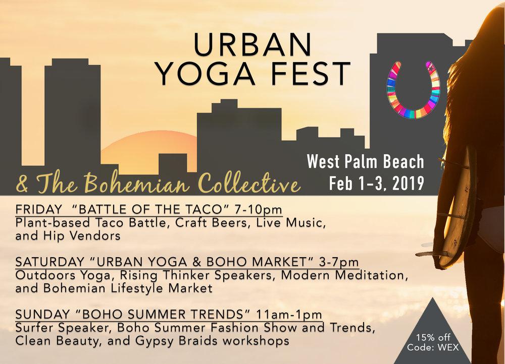 urban yoga fest