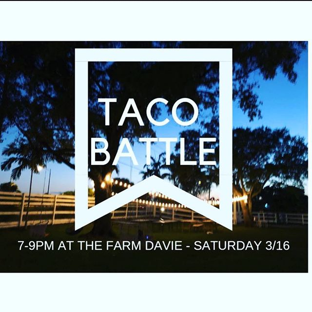 The Farm is looking so beautiful.. it was so relaxing while we were setting up tonight getting ready for TOMORROW - the good life ~ See you tomorrow !  Tix on link ⬆️ #tacobattle#davie#miami#thisweekend#horses #tacos #yogalifestyle #vegantacos #vegan#plantbased#chefs#thingstodothisweekend#miami#broward#farm#fortlauderdale #farmlife #yogaeverywhere