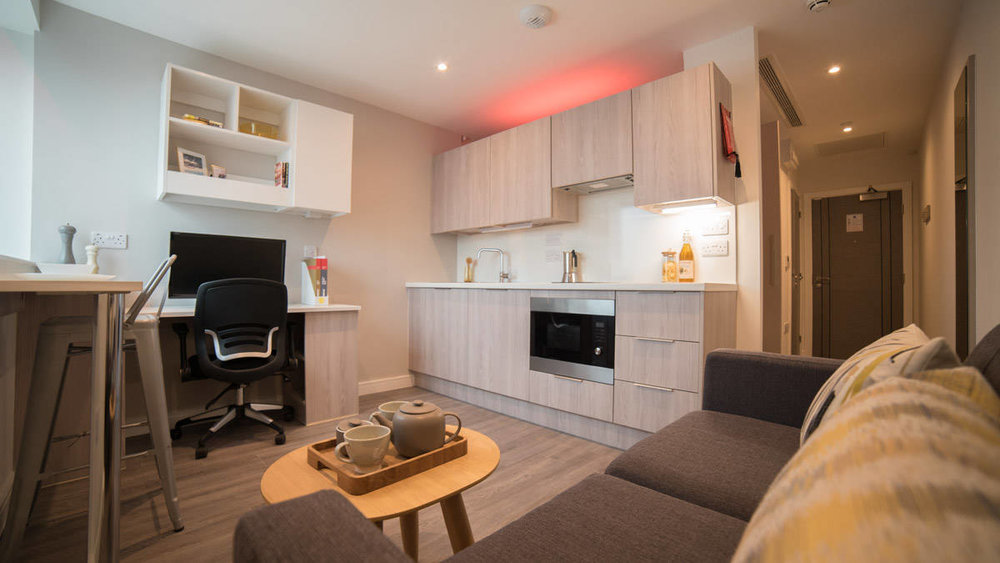 studios offer all mod cons for modern student living
