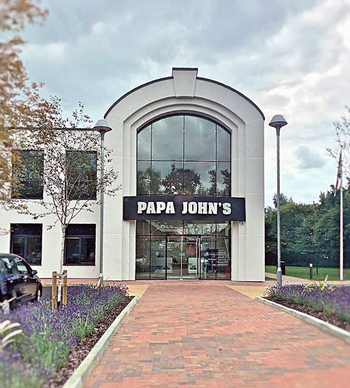papa johns headquarters | milton keynes