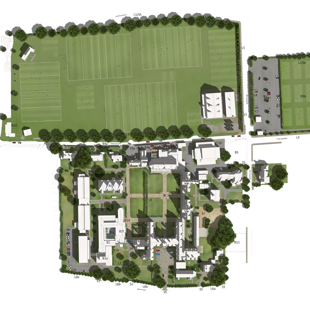 st johns school, leatherhead | masterplan