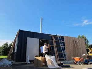 Yelvertoft Primary School biomass boiler installation