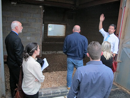 Oakley Vale Primary School Biomass Boiler Event