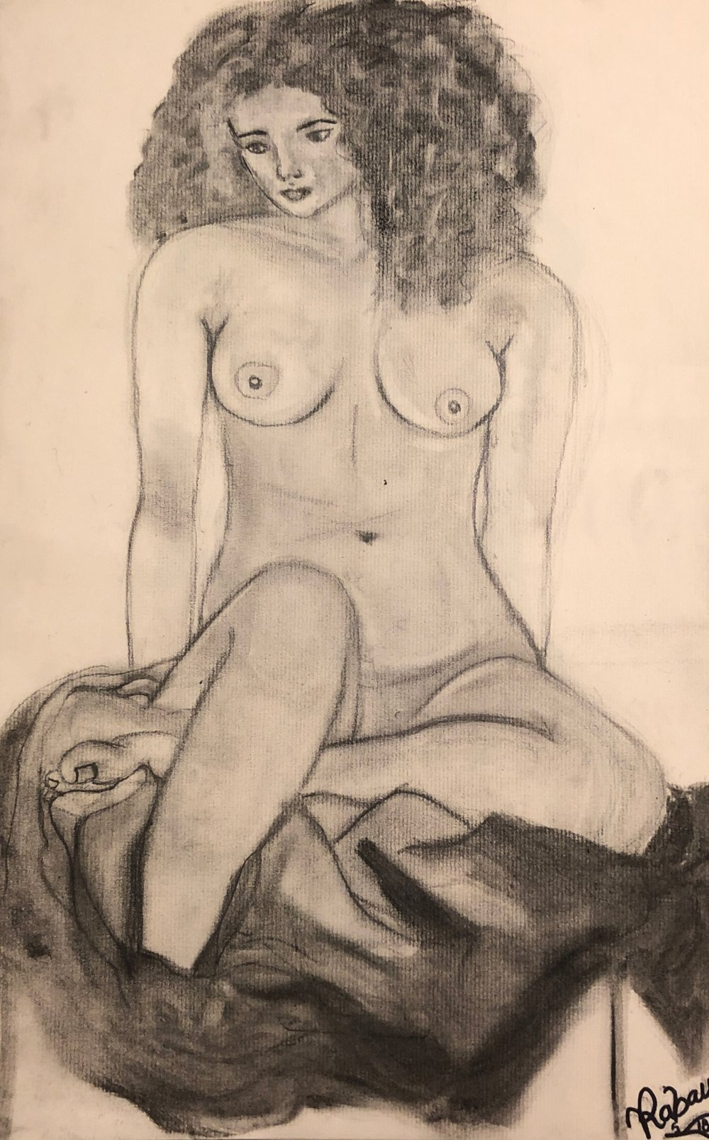 Life Drawing Nude #1