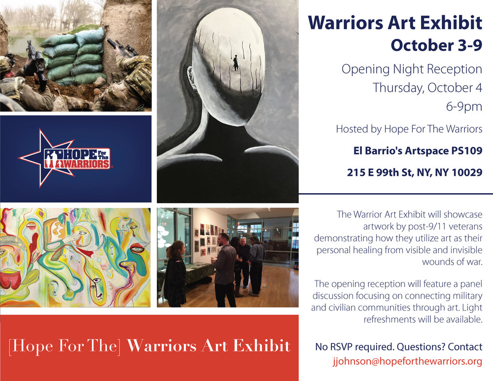 Warrior Art Exhibition