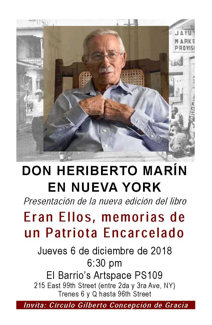 Don Heriberto Marin en Nueva York