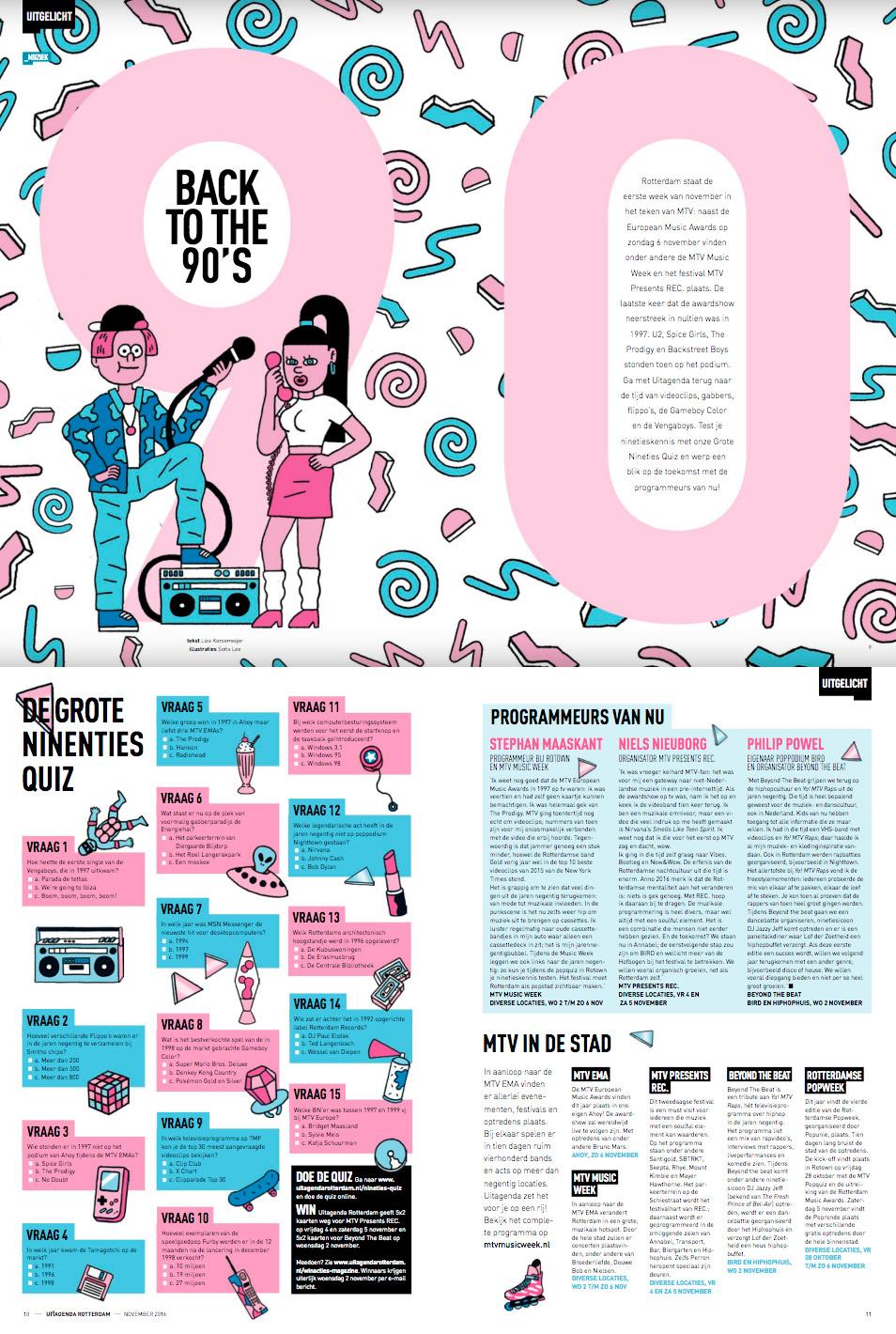 MTV EMA's & Music Week Rotterdam