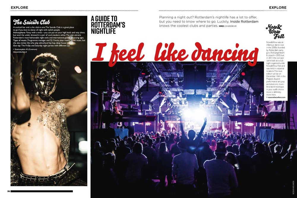 Reportage on Rotterdam's nightlife
