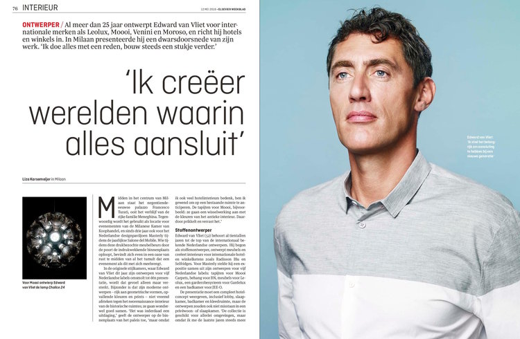 Interview Edward van Vliet in Milaan