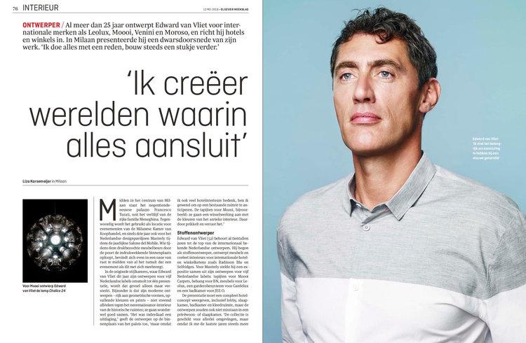 Interview Edward van Vliet in Milaan