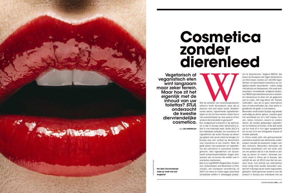 Dossier diervriendelijke cosmetica