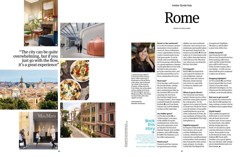 My insider's tips for visiting Rome