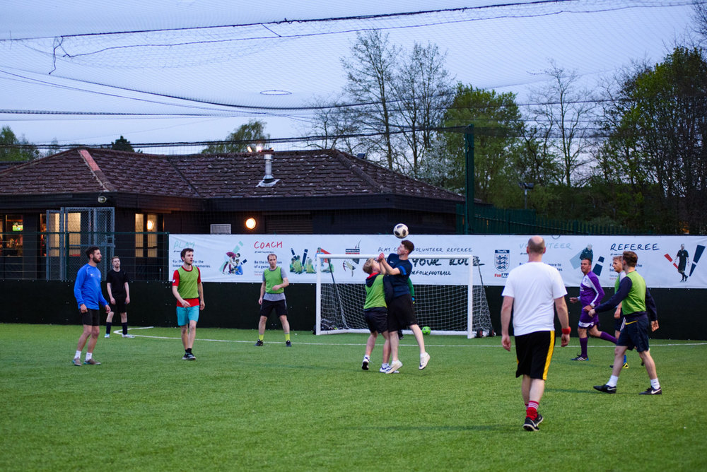 MONDAY NIGHT FOOTBALL - Every monday evening 8 -9pm  (Everyone is welcome!)FDC CENTRE, BOWTHORPE PARK, NORWICH, NR5 9ED