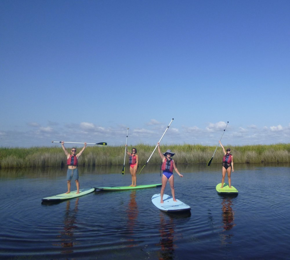 Stand up paddle board lesson.JPG