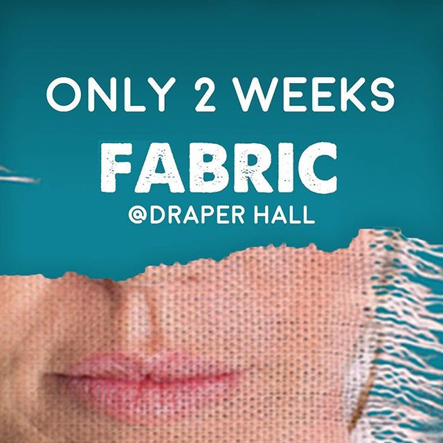 Less than TWO weeks to go till the first of our FABRIC events A West End Play & panel/workshops @DraperHall about preventing harassment  OCT 4TH - Play & Post-Show Panel About Preventing Harassment OCT 5TH - Play & Pre-Show Workshop on Preventing Harassment OCT 6TH - Play & Pre-Show Workshop on Preventing Harassment  Tickets & more information: https://www.drapertogether.org/events/?tag=fabric In support of Solace Women's Aid. … #womensaid #fabric #fabricplay  #damselproductions #draperestate #drapertogether #community #elephantandcastle #domesticabuse #preventharassment #strongwomen #draperhall